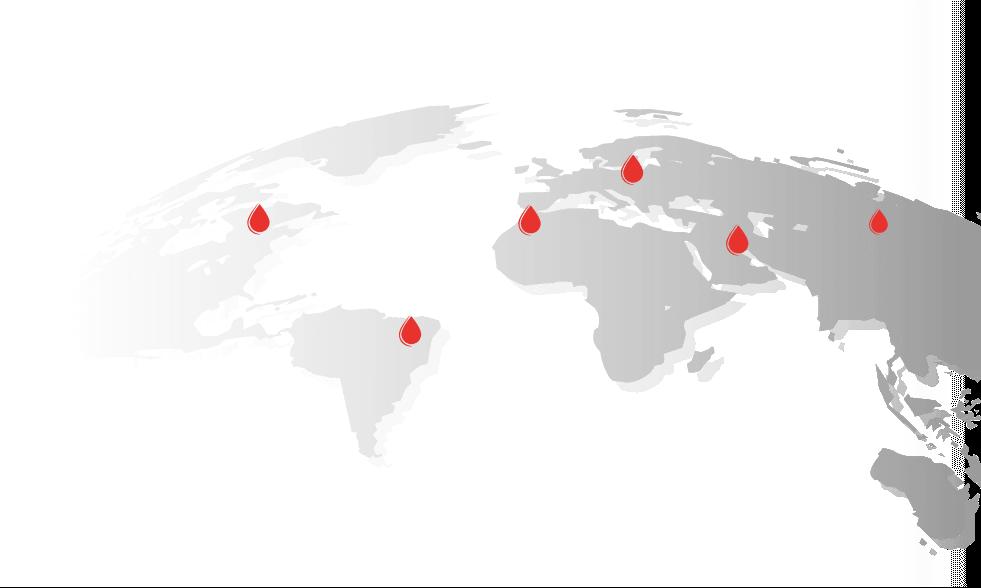 Mapa z punktami